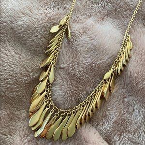 Kate Spade Gold Fringe Necklace